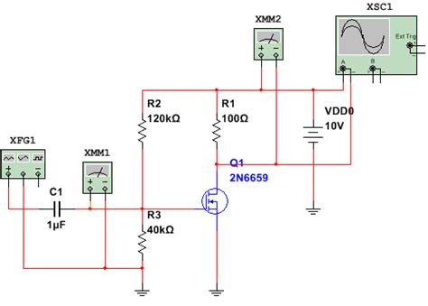 mosfet gs resistor mosfet lifier mid point bias electrical engineering stack exchange