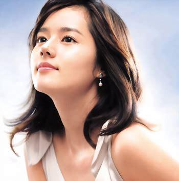 film han gan in han ga in foto artis korea tercantik