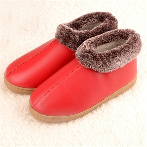 10 Slippers For The Winter by Wrap Heel Leather Slippers Cotton Slippers Winter Indoor