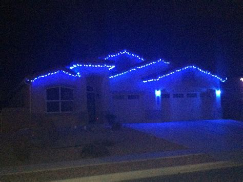 blue icicle led christmas lights