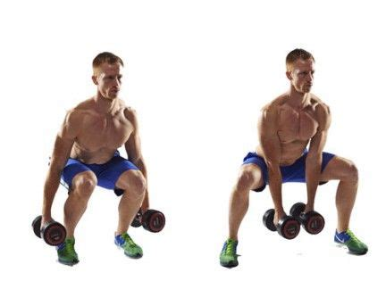 build a six pack at home in three weeks sumo squat and legs