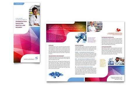 desain brosur rumah sakit desain brosur pamflet kesehatan dan medis elegan dan modern