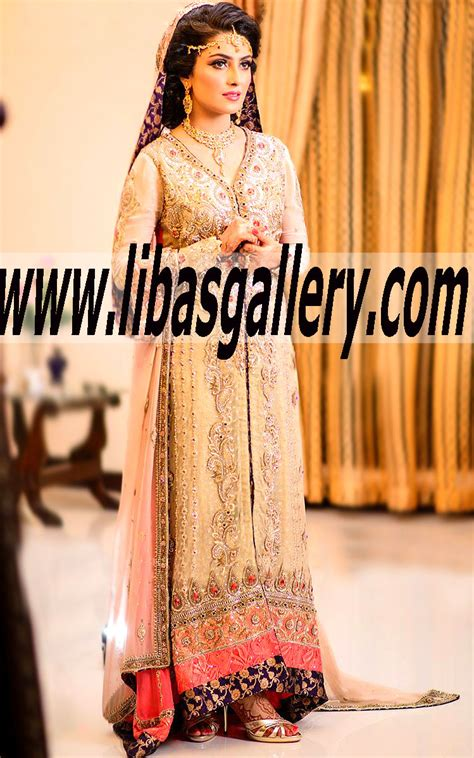 Ayeza Khan Bridal Wear Collection 2015   Pakistani Bridal