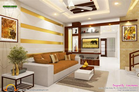 new home plans with interior photos total home interior solutions by creo homes kerala home