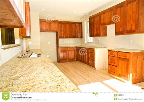 kitchen cabinets installed new kitchen cabinets installed royalty free stock images