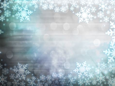 Light Blue Snowflake Background Picture Download Over Snowflake Powerpoint Background