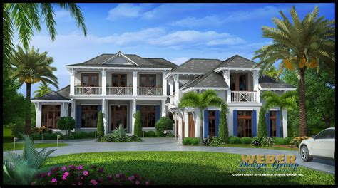 West Indies House Plan Villa Veletta House Plan Weber West Indies Style House Plans