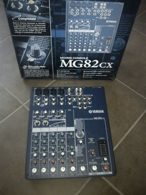 Mixing Console Yamaha Mg82cx yamaha mg82cx related keywords yamaha mg82cx