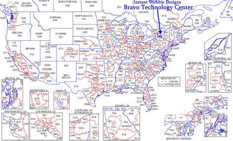 telephone area code map telephone area code map bing images
