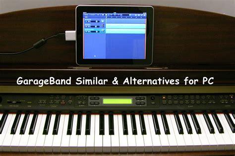 pc garage band garageband similar alternatives for pc windows free paid