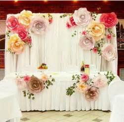 wedding backdrop paper flowers paper flowers backdrop wedding paper backdrop wedding paper flower backdrop and
