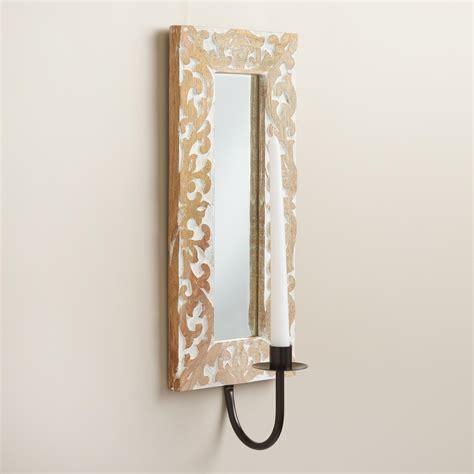 Mirrored Wall Sconce Mirrored Wall Sconce World Market