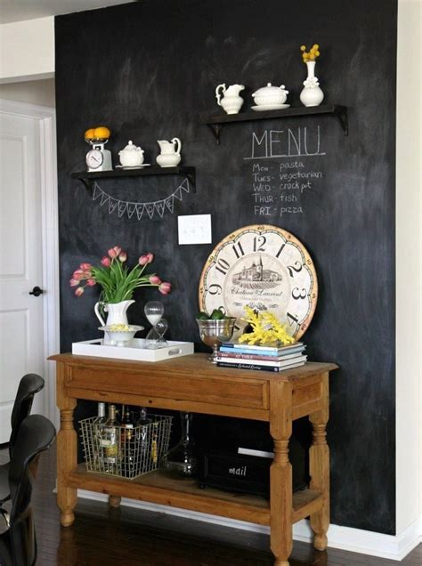 chalkboard in kitchen ideas 34 chalkboard kitchen wall ideas to get inspiration
