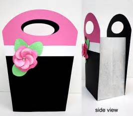 How To Make A Paper Gift Bag Templates by Gem S Cottage 187 Gift Bag Template