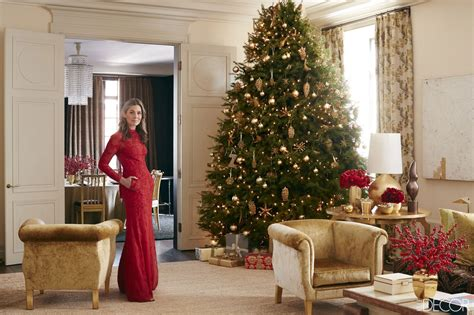 elle decor celebrity homes aerin lauder manhattan home holiday entertaining secrets
