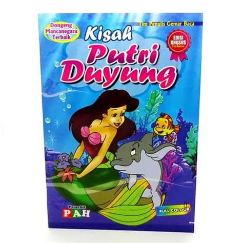 Harga Mustika Putri Duyung buku dongeng putri duyung pusaka dunia