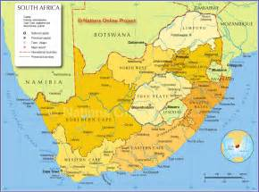 Johannesburg South Africa Map by Map Of South Africa Provinces Nations Online Project