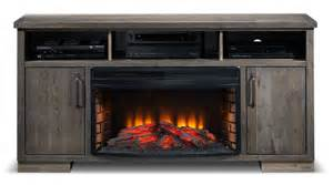 Entertainment Wall Units With Electric Fireplace by Holt Fireplace Tv Stand Slate S
