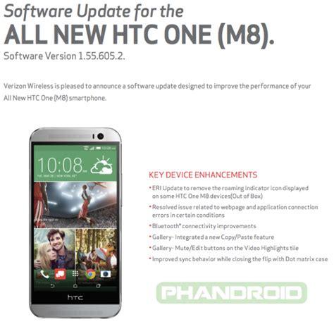 how to update verizon roaming androidreamer htc one m8 update hits verizon brings