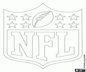 coloring pages of nfl logos nfl logos coloring pages printable games 3