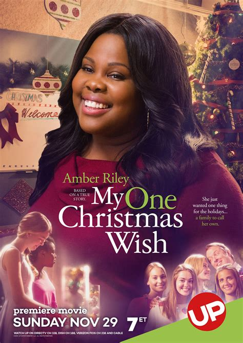 up s my one christmas wish starring amber riley airs nov 29 blackfilm com read blackfilm