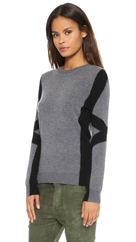 Sweater Secret Lyst Top Secret Nolita Sweater Charcoal In Gray
