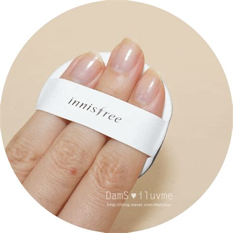 Paket Innisfree Water Fit Cushion N23 Incl Puff kem nền innisfree melting essence foundation jeju cosmetics