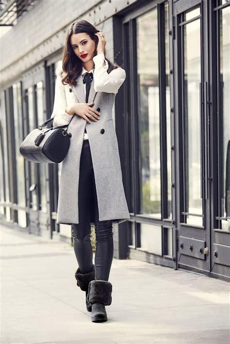Stylist Zoe On Boots by Zoe Styles Ugg Classic Slim Lookbook Footwear News