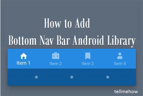 android navigation bar add bottom nav bar android library 187 tell me how a place for technology geekier