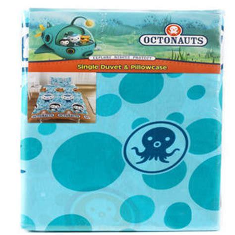 octonauts bedding octonauts barnacles single duvet