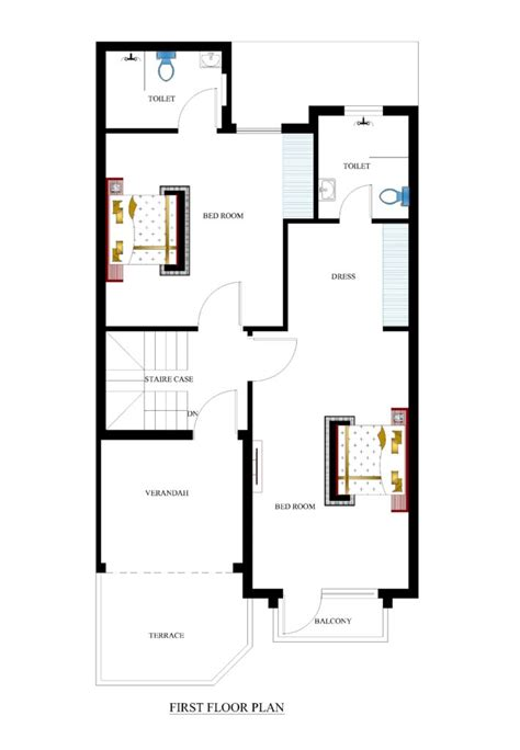 floor plans for 25x50 house plans for your house house plans