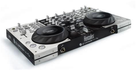 consol da dj mesa de mezclas hercules dj console 4 mx 4 al mejor precio