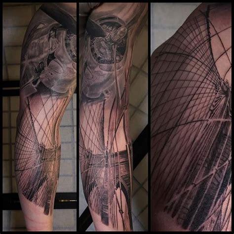 tattoo parlour london bridge black and grey sleeve tattoo in progress tattoonow