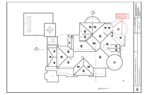 roof pattern drawing roof plans that need help from elevation views existing