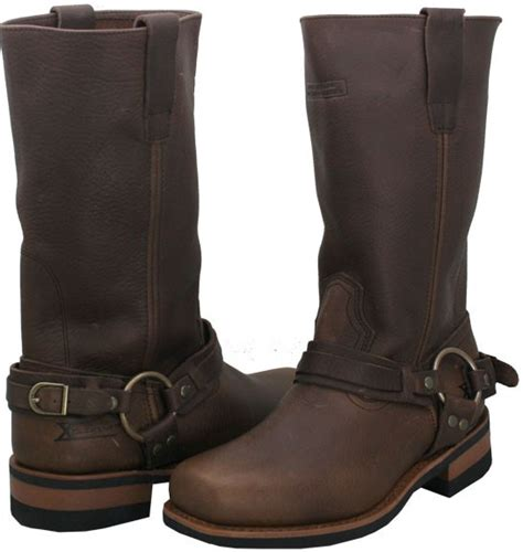 mens brown boots size 10 mens brown x element crushed harness boots size