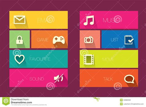 elegant themes mobile version mobile theme stock photography image 34980332