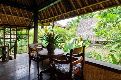 honeymoon cottages ubud terrace of hanoman room picture of honeymoon guesthouses