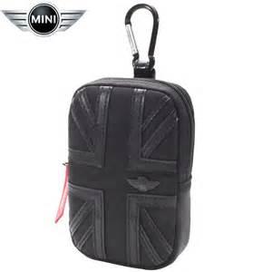 Mini Cooper Bags Mini Cooper Union Leather Bag Medium Black