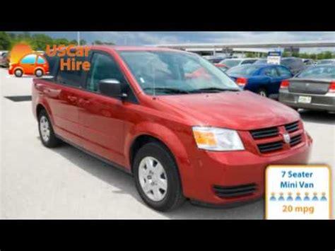 alamo 8 seater minivan us car hire 7 seater minivan
