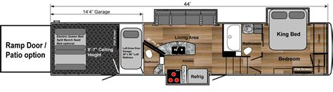 fifth wheel hauler floor plans fifth wheel hauler floor plans floor matttroy