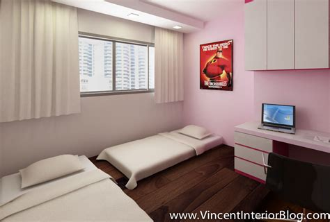 Hdb Bedroom Design Woodland 4 Room Hdb Renovation By Behome Design Concept Quotation Perspectives Floor Plan