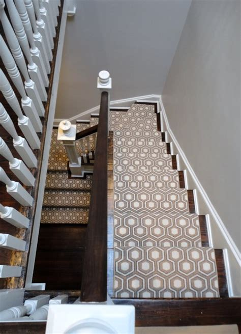Townhouse Stairs Design Georgetown Townhouse Transitional Staircase Dc Metro By Zoe Feldman Design Inc
