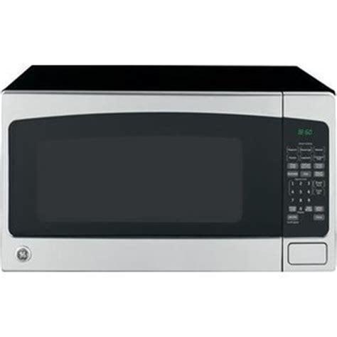 Ge Countertop Microwave Reviews by Ge 2 0 Cu Ft Countertop 1200 Watt Microwave Jes2051snss
