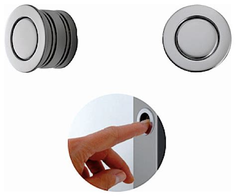 Magnetic Cabinet Knobs by Magnetic Edge Pull 594 30 Modern Pocket Door Hardware
