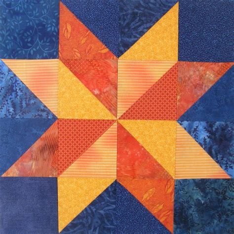 Starry Quilt Pattern by Neutron Quilt Block Starry 4 Shiny Happy World