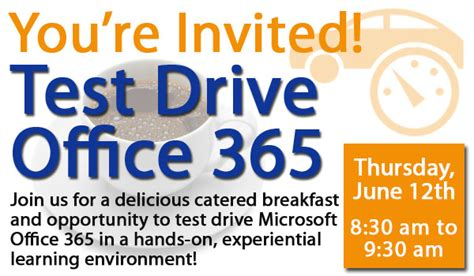 Office 365 Quiz Office 365 Test Drive Event