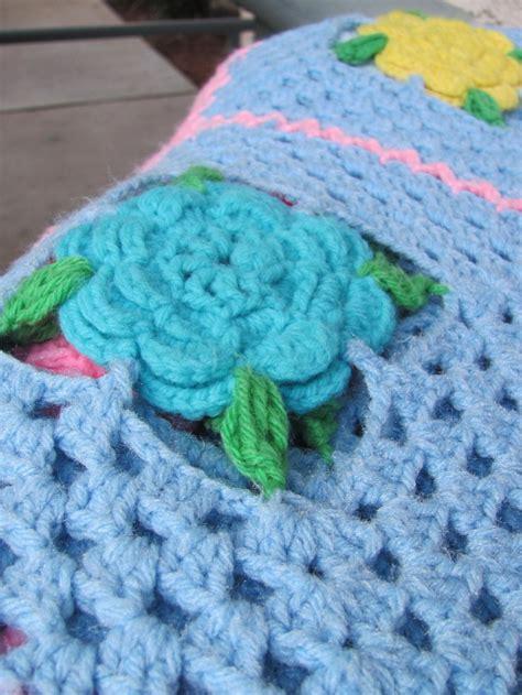 crochet pattern flower afghan 183 best crochet flower afghans images on pinterest