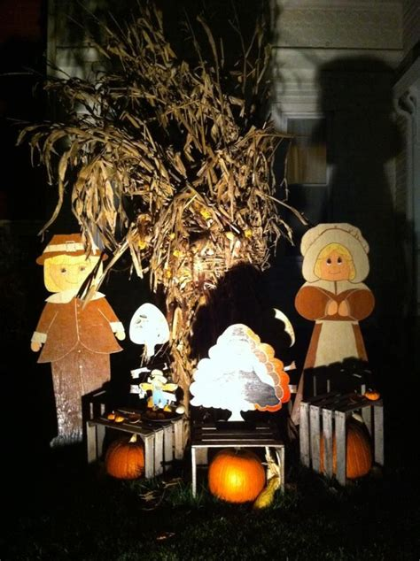 thanksgiving yard decorations halloween pinterest