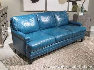 turquoise leather sofa turquoise leather sofa country willow furniture leather