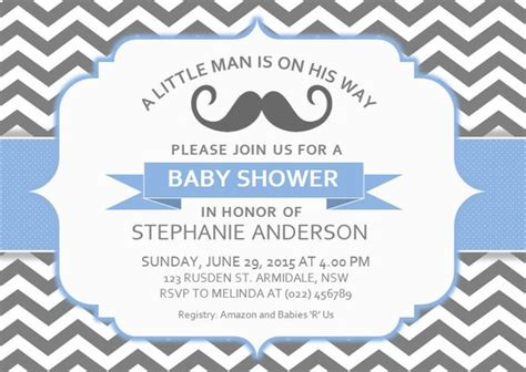 Diy Printable Ms Word Baby Shower Invitation Template By Inkpower Baby Shower Invitation Template Microsoft Word